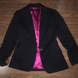 Black Wool Talbots Blazer